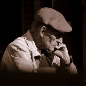 ElderlyManPondering