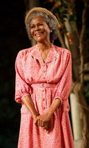 Ms. Cicely Tyson in her Tony Award-winning role as Ms. Carrie Watts