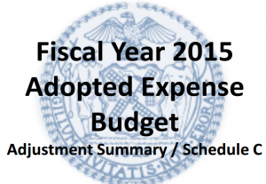 FY15 budget