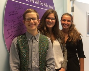 Summer 2014 RRIP students visiting the Harry and Jeanette Weinberg Center for Elder Abuse Prevention at the Hebrew Home at Riverdale.