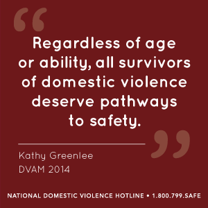 DV quote Kathy Greenlee