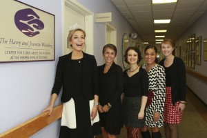 The Weinberg Center team with Kira Kazantsev, Miss America 2015.