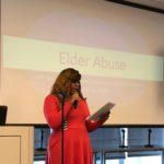EMDT Program Coordinator Khi-Lynn at the APS World Elder Abuse Awareness Conference.